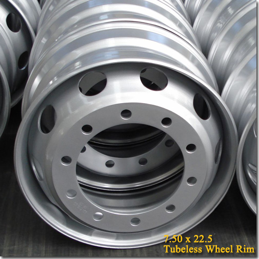 7.50x22.5 Tubeless Steel Truck Trailer Wheel Rim