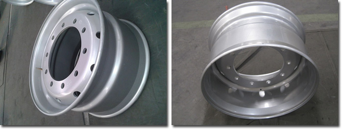 11.75x22.5 Wheel Rim Detail Photots