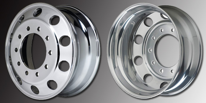 Truck Aluminum Wheel Rim Detail Photos