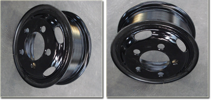Truck Steel 16 inch Wheel Rim Detail Photos