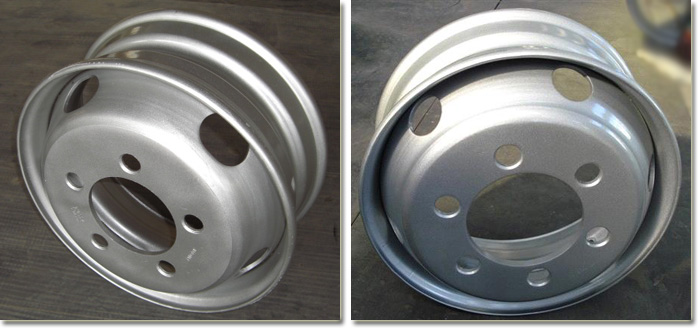 6.75x17.5 Tubeless Truck Trailer Wheel Rim Detail Photos