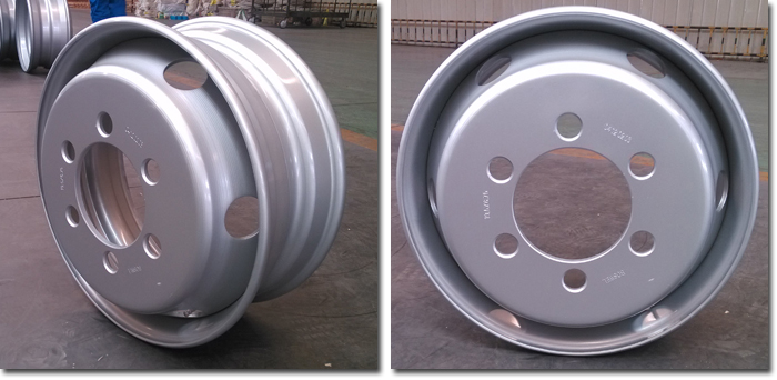 6.75x19.5 Steel Semi-trailer Wheel Rim