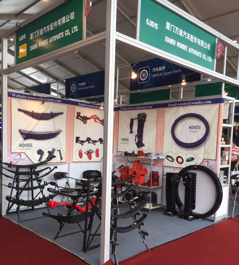 WONDEE autoparts booth