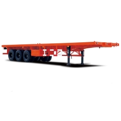 3 Axle Flatbed Semi Trailer