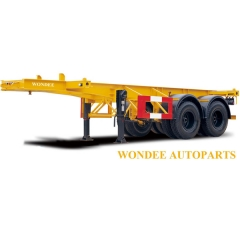 2 Axle 30T Chassis Semi Trailer