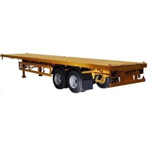 30T 2 Axle Flatbed Semi-trailer