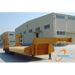 Container Lowbed Semi Trailer
