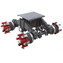 Spoke Bogie Suspension