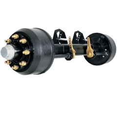 Drum type Axle