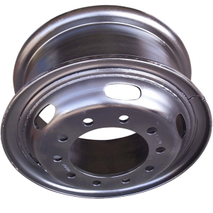 Trailer 6 Bolt Tube Steel Rim
