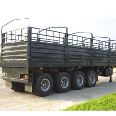 4 Axle Storehouse Semi Trailer