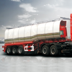 Chemical Liquid Semi Trailer