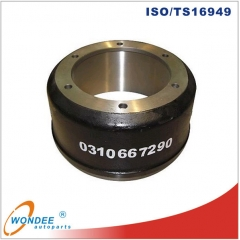 Axle parts Trailer Brake Drum