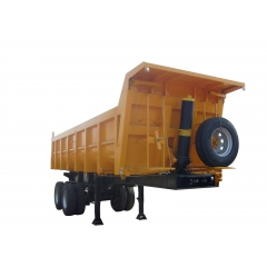 2 Axle Semi Tipping Trailer
