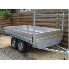 8x5 Double Axle Trailer