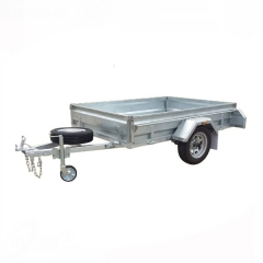 10'x5' Galvanized Cage Trailer