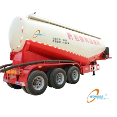 Bulk Cement Tanker Semi trailer for Sale