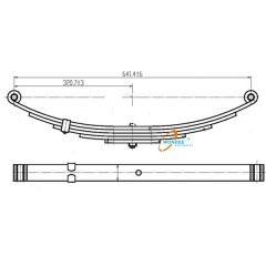 Semi Trailer Small Leaf Spring
