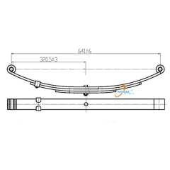 Trailer Small Leaf Spring Supplier