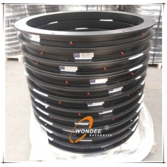 UA Type Steel Bearing 15T Trailer Turntable