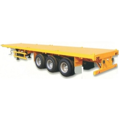 Container 3 Axle 40Ton Flatbed Trailer