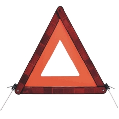 Flashing Light Warning Triangle
