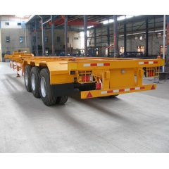 Skeletal 3 Axle Chassis Semi Trailer