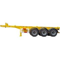 Factory 3 Axle Container Skeletal Trailer