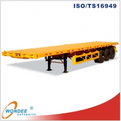 Container Flatbed Tridem Axle Trailer