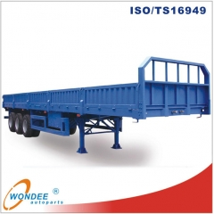 40t 3 Axle Side Wall Semi Trailer