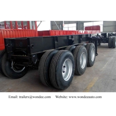 WONDEE 3-axle Skeletal Semi-trailer For Australia Market