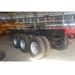 WONDEE 30ft 3-axle Skeletal Semi-trailer