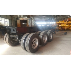 WONDEE 30ft 3-axle Skeletal Semi-trailer For Tipping Trailer