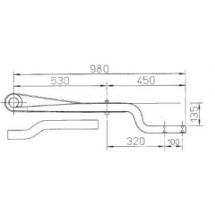 Air Suspension 21225660 Air Linker Leaf Spring