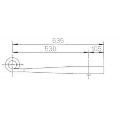 ROR 21225670 Air Linker Leaf Spring for Sale