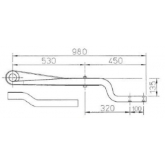 ROR 21225659 Air Linker Leaf Spring