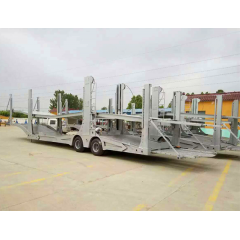 Euro 2-Axles Car-Carrier Trailer Transport For Cars