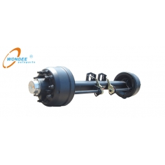 semi trailer axle beam size 127mmx127mm