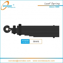 Drawbar leaf Springs