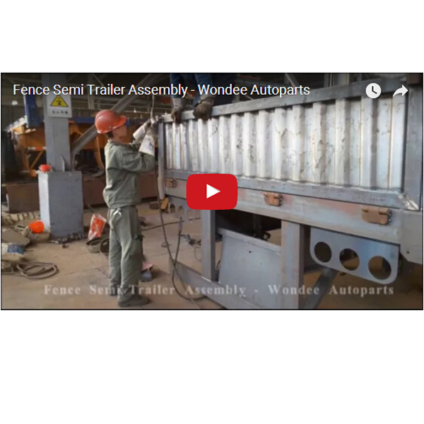 Fence Semi Trailer Assembly - Wondee Autoparts